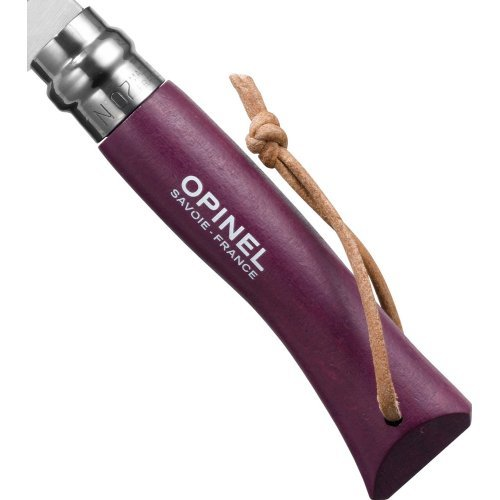 Opinel Zakmes nr. 7 Roestvrij Paars