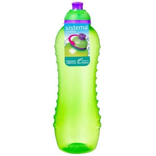 Sistema Waterfles 460 ml Twist & Sip Groen