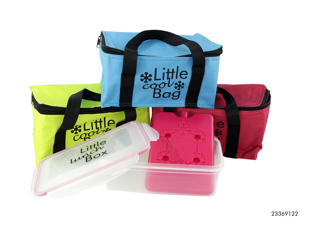 Koeltasje Inclusief Lunchbox en Element
