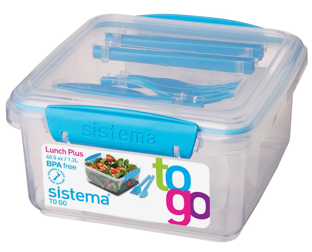 Sistema Salade Lunchbox Plus
